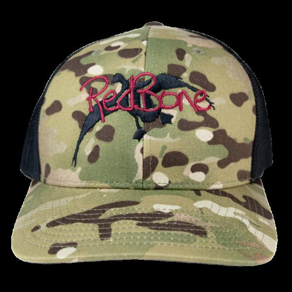 Redbone Brand Apparel Camo Hat